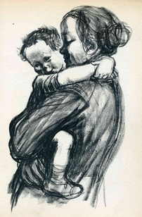Käthe Kollwitz mother with child